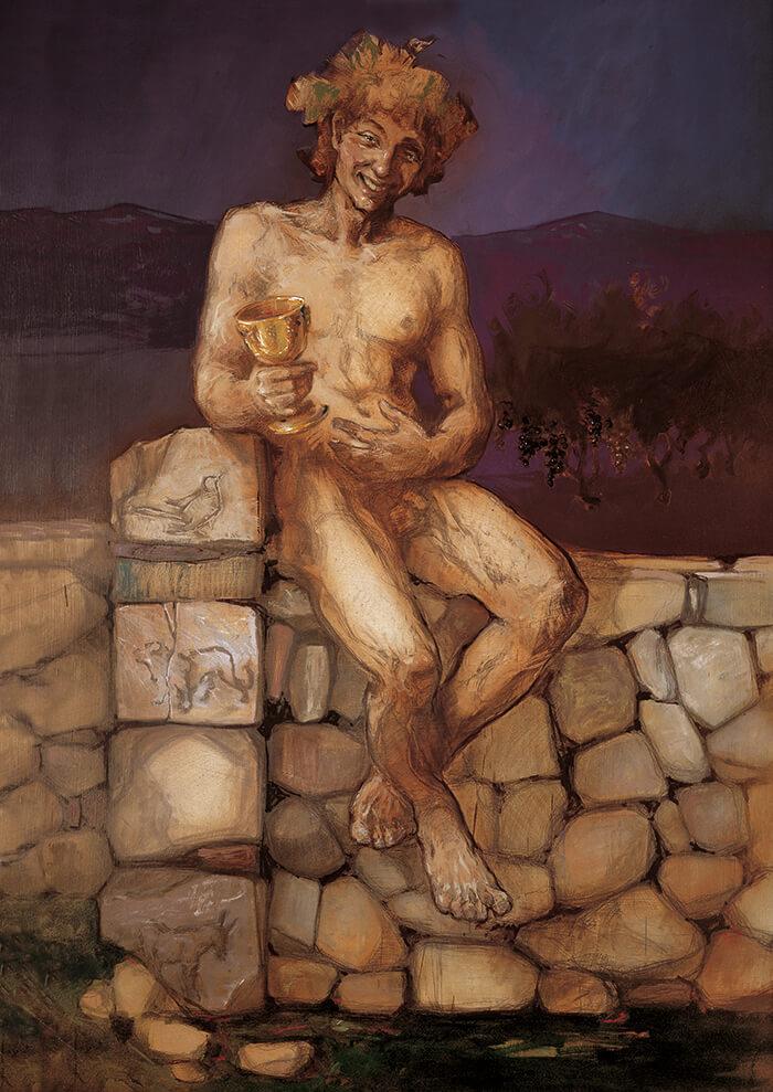 Dionisos Baco Zagreo